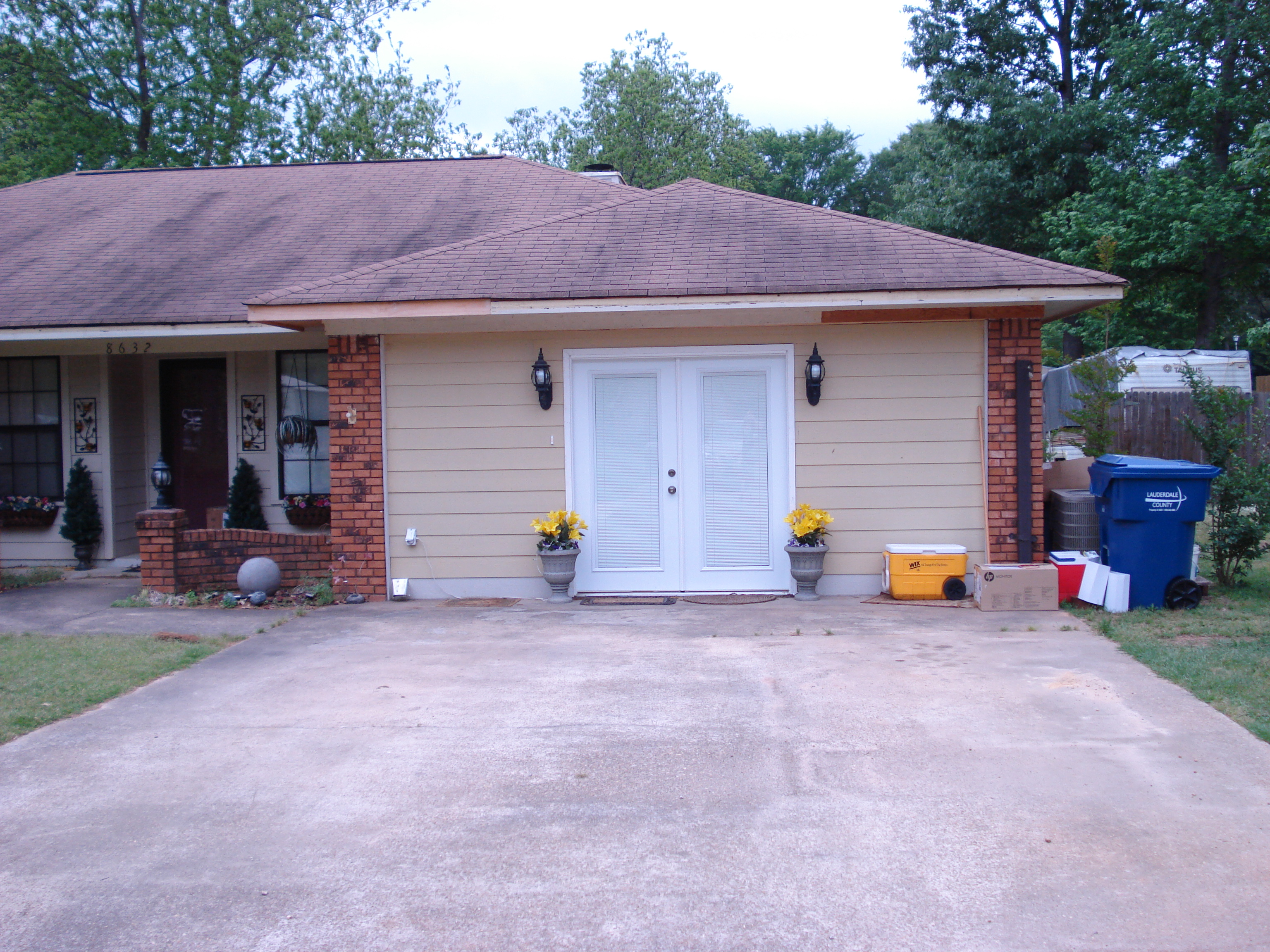 Exterior paint protects your most valuable asset perk it for Garage door visualizer